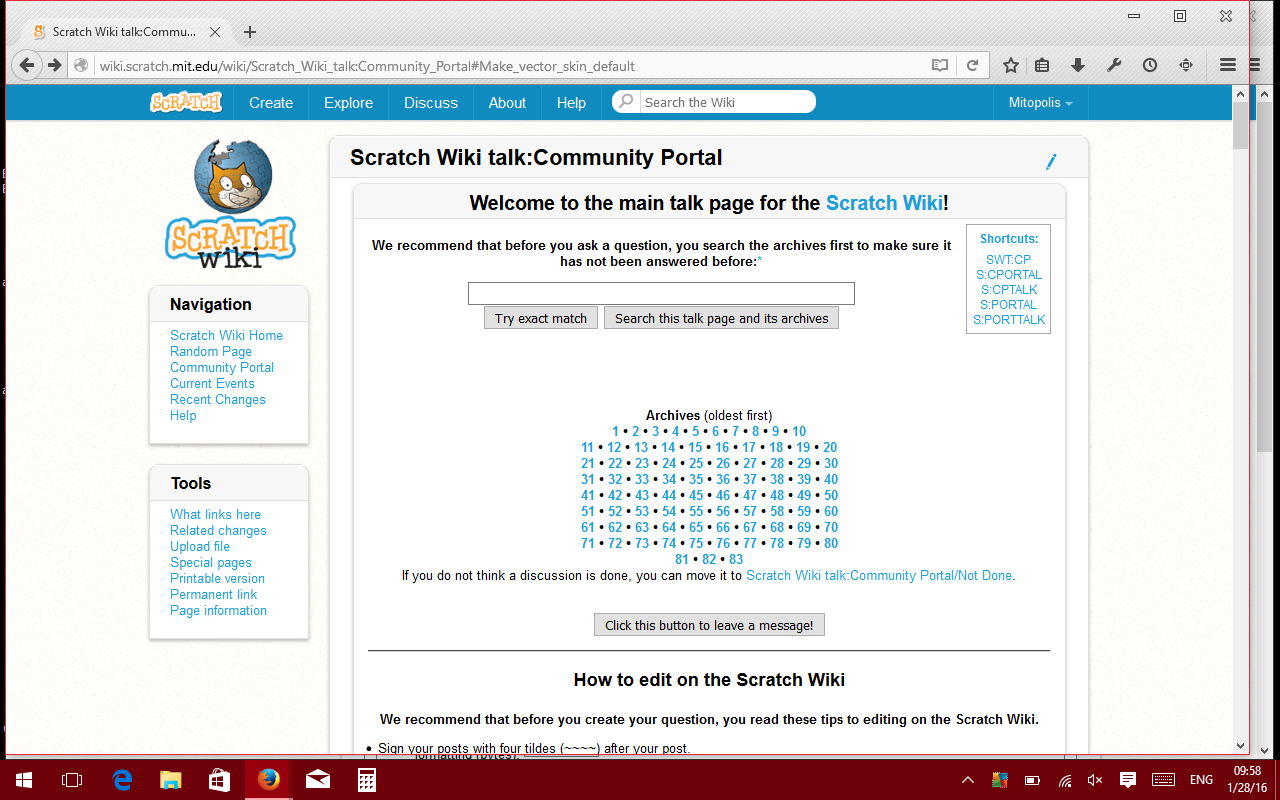 Scratch Wiki talk:Community Portal/Archive 84 - Scratch Wiki