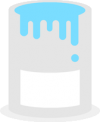 Paint Bucket Flat Design Example.png