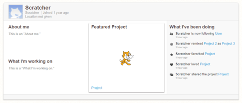 Profile Page - Scratch Wiki